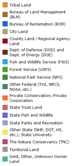 US Protected Areas Database